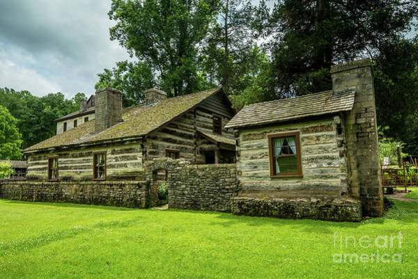 Photograph - Spring Mill State Park - Mitchell - Indiana by Gary Whitton