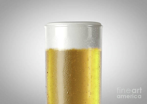 Frosty Digital Art - Stange Beer Pint by Allan Swart