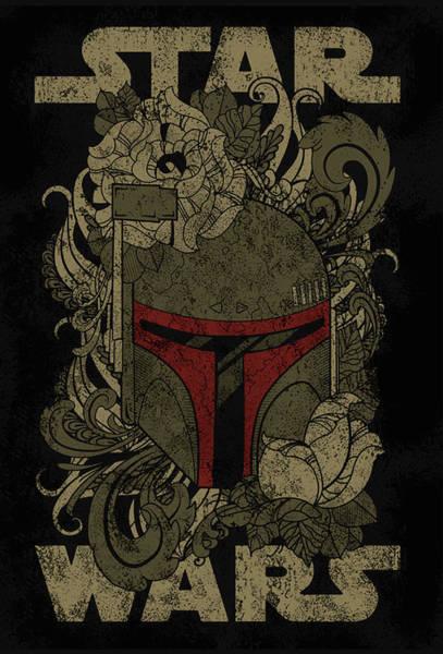 Star Wars Wall Art - Digital Art - Star Wars by Geek N Rock