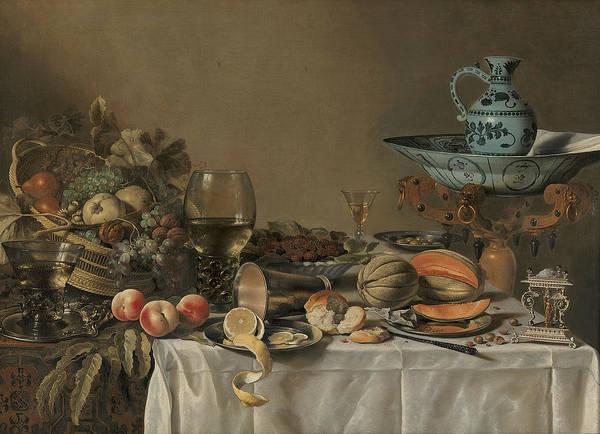 Painting - Still Life by Pieter Claesz