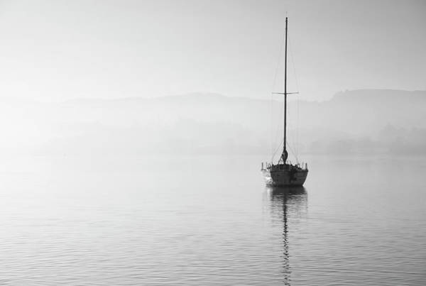 Wall Art - Photograph - Stunning Unplugged Fine Art Landscape Image Of Sailing Yacht Sit by Matthew Gibson