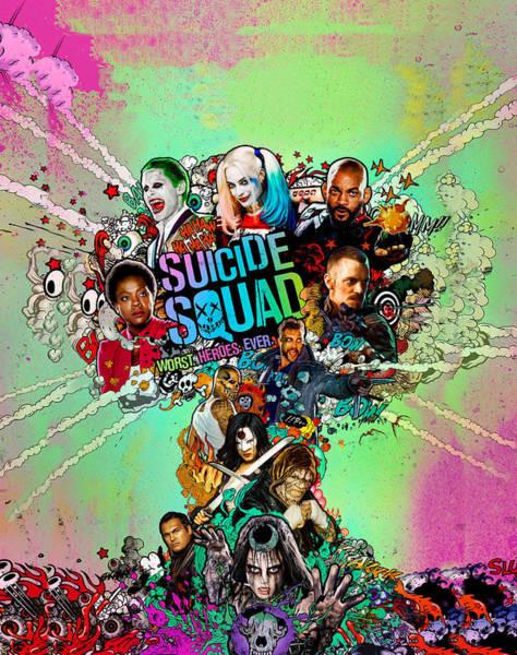 Robin Digital Art - Suicide Squad by Geek N Rock