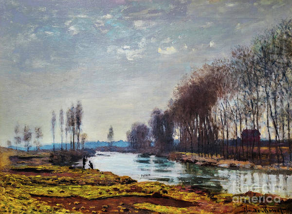 Painting - The Petit Bras Of The Seine At Argenteuil by Claude Monet