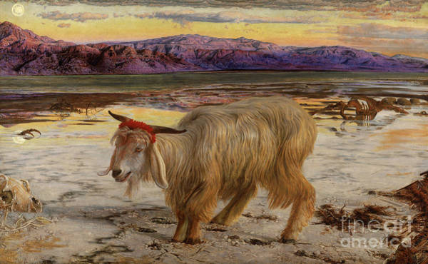 Holman Wall Art - Painting - The Scapegoat by William Holman Hunt