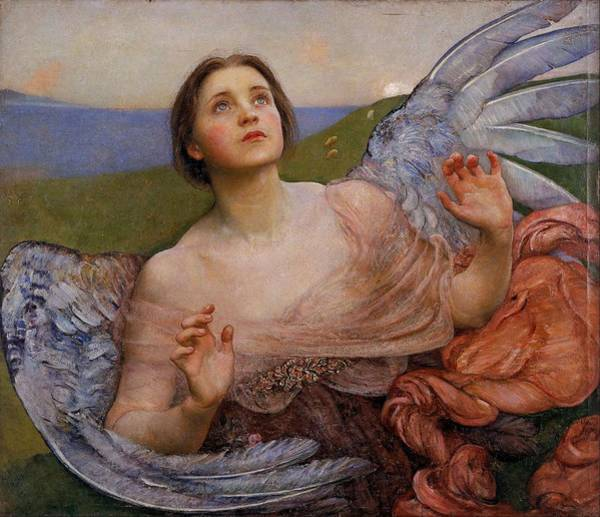 Wall Art - Painting - The Sense Of Sight  by Annie Louisa Swynnerton