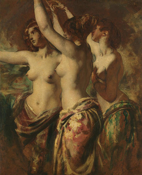 Painting - The Three Graces by William Etty