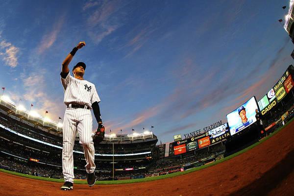 Photograph - Toronto Blue Jays V New York Yankees - by Al Bello