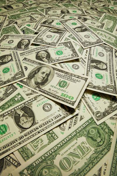 Excess Photograph - Us Dollart Banknotes by Yuji Sakai