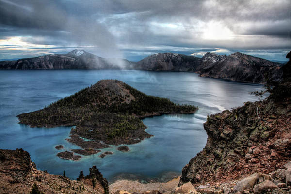 Wall Art - Photograph - Usa, Oregon, Crater Lake National Park by Jaynes Gallery