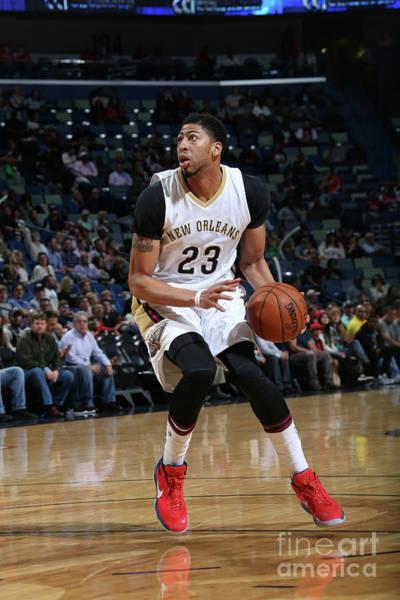 Photograph - Utah Jazz V New Orleans Pelicans by Layne Murdoch Jr.