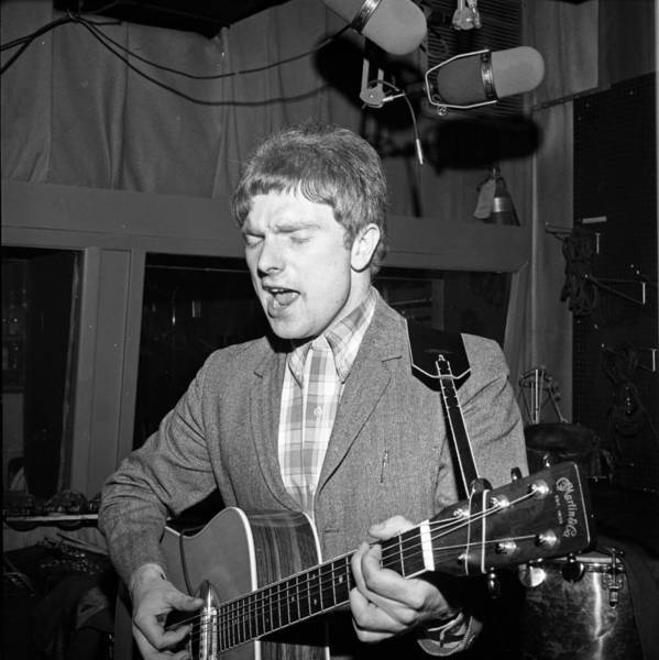 Acoustic Photograph - Van Morrison Bang Records Session by Donaldson Collection
