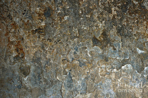 Wall Art - Photograph - Weathered Stone Wall by Tom Gowanlock