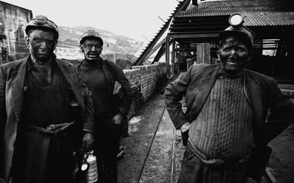 Miners Photograph - Welsh Mining Town by I C Rapoport