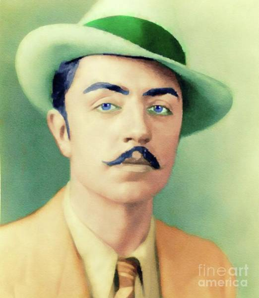 Wall Art - Painting - William Powell, Hollywood Legend by John Springfield