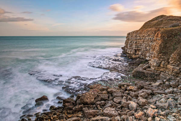Wall Art - Photograph - Winspit Quarry - England by Joana Kruse