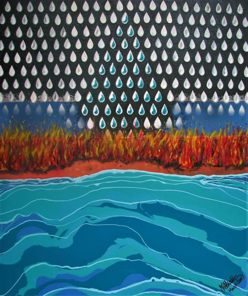 Painting - 40 Years Reconciliation by Joan Stratton