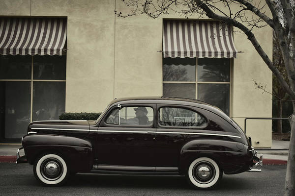 Photograph - 41 Ford Sedan by Bill Dutting
