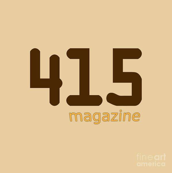 Phoebe Digital Art - 415 Magazine Logo by The Halliwell Ones