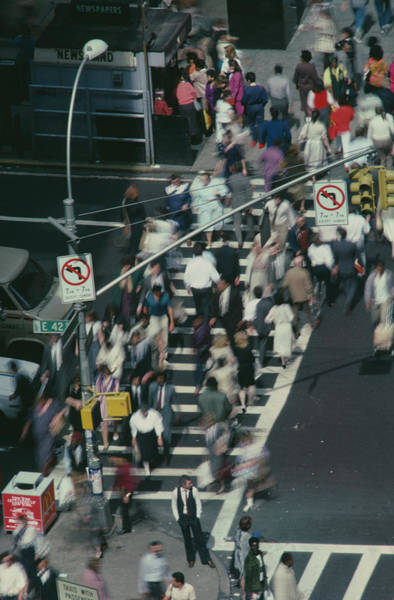 Photograph - 42nd Street by Alfred Gescheidt