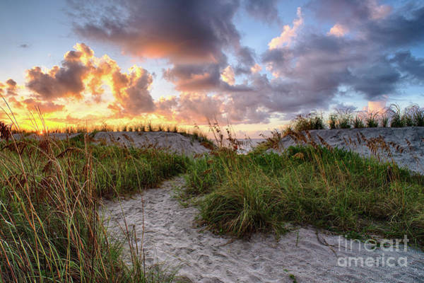 48th Ave. Sunrise North Myrtle Beach Art Print
