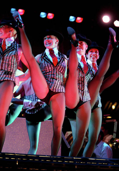 Rockettes Photograph - 4th Annual Broadway Under The Stars by Paul Hawthorne