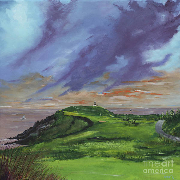 Painting - 4th Hole Kinsale Golf Links by Conor Murphy