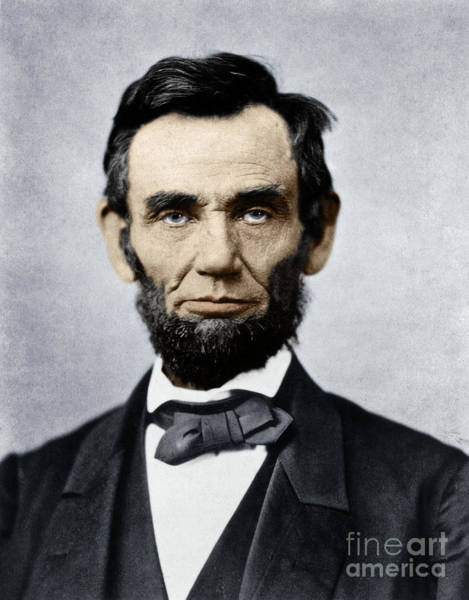 Wall Art - Photograph - Abraham Lincoln by Alexander Gardner
