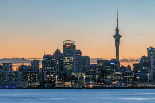 Stadt Photograph - Auckland - New Zealand by Joana Kruse