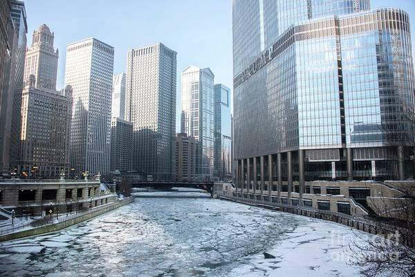 Wall Art - Photograph - Chicago River by David Bearden