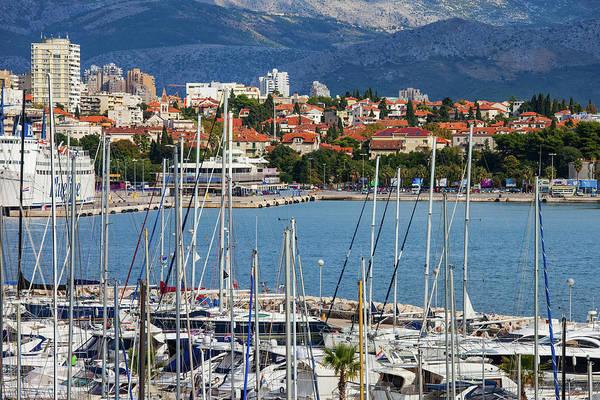 Wall Art - Photograph - City Of Split In Croatia by Artur Bogacki