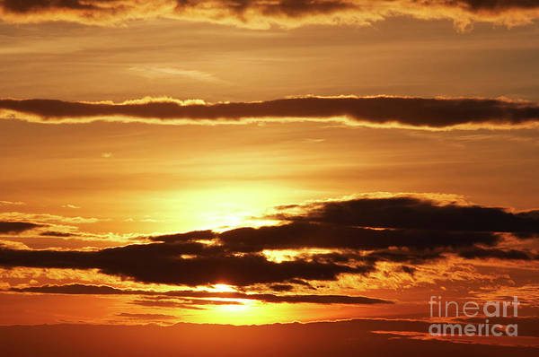 Wall Art - Photograph - Clouds At Sunset by Michal Boubin