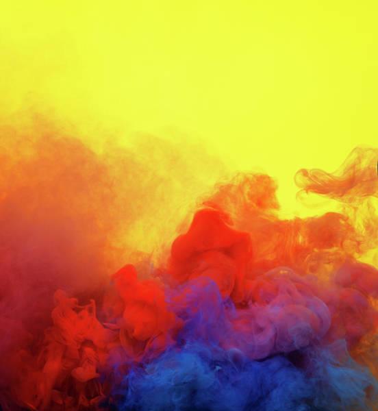 Photograph - Colored Smoke by Henrik Sorensen