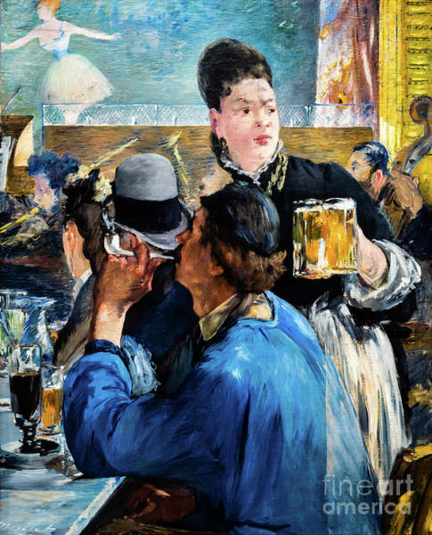 Painting - Corner Of A Cafe Concert by Edouard Manet
