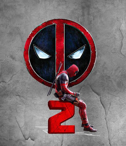 Wall Art - Digital Art - Deadpool 2  by Geek N Rock