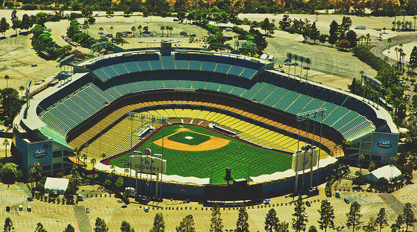 Wall Art - Photograph - Dodger Stadium by Mountain Dreams