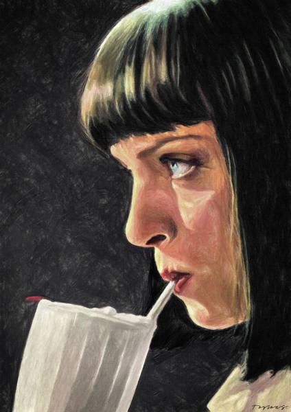 Wall Art - Painting - 5 Dollar Milkshake by Zapista Zapista