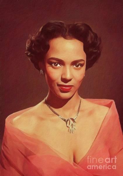 Dorothy Dandridge, Hollywood Legend Art Print