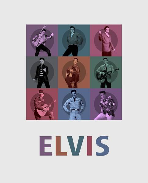 Wooden Shoe Digital Art - Elvis Presley by David Richardson