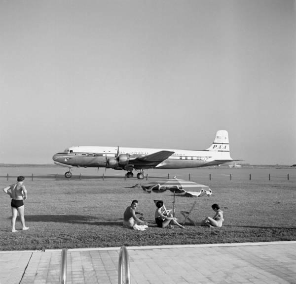 Wall Art - Photograph - Ezeiza Airport, Argentina by Michael Ochs Archives