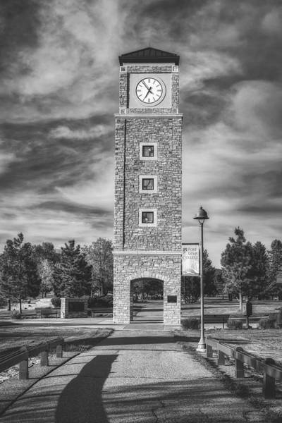 Wall Art - Photograph - Fort Lewis College Clock Tower by Mountain Dreams