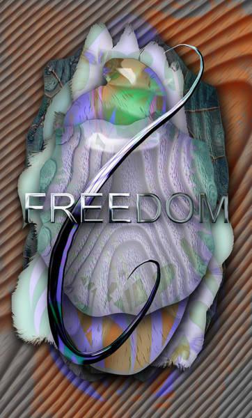 Wall Art - Mixed Media - Freedom by Marvin Blaine