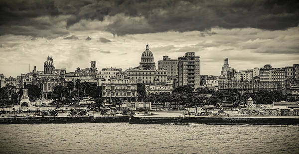 Wall Art - Photograph - Havana Waterfront by Mountain Dreams