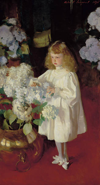 Wall Art - Painting - Helen Sears by John Singer Sargent
