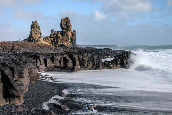 Wall Art - Photograph - Londrangar - Iceland by Joana Kruse
