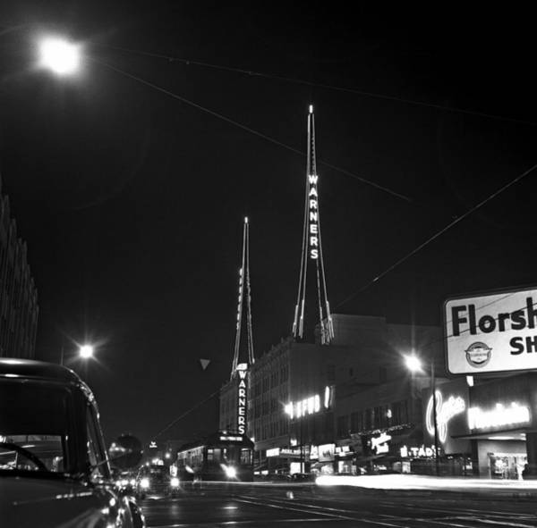 Hollywood Photograph - Los Angeles In The 1950s by Michael Ochs Archives