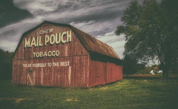 Wall Art - Photograph - Mail Pouch Tobacco Barn by Mountain Dreams