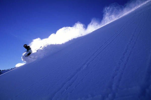 Skiing Photograph - Man Skiing In Colorado by Scott Markewitz