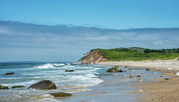 Wall Art - Photograph - Martha's Vineyard - Moshup And Aquinnah Beaches by Brendan Reals