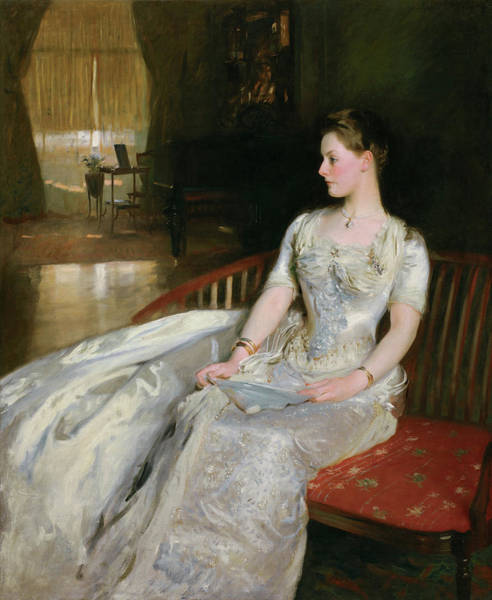 Wall Art - Painting - Mrs. Cecil Wade by John Singer Sargent
