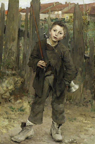 Pulling Painting - Nothing Doing by Jules Bastien-Lepage